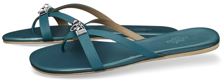 Hermes-Corfou-Sandals-Blue