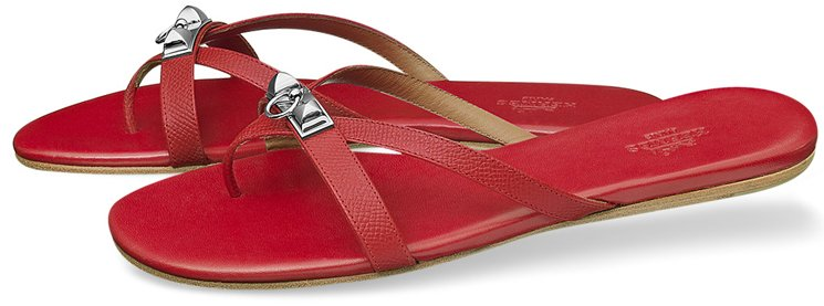 Hermes-Corfou-Sandals-Orange