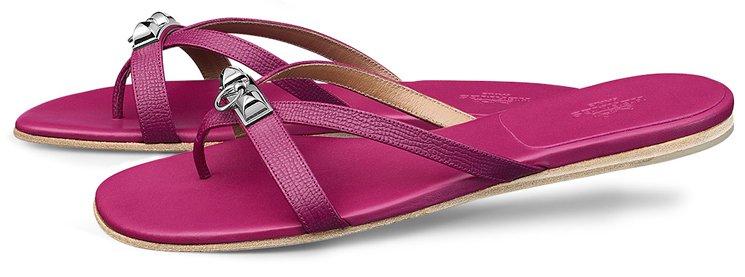 Hermes-Corfou-Sandals-Pink