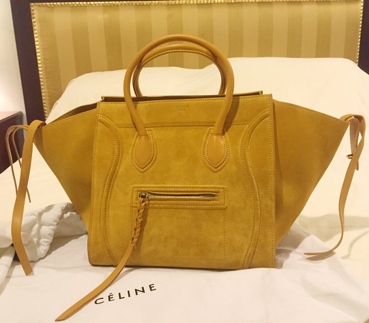 celine large phantom luggage bag