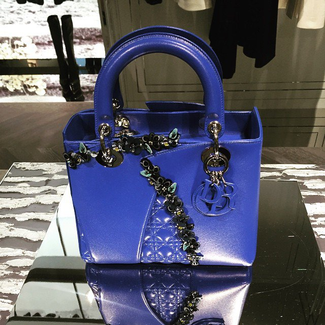 Limited-Edition-Lady-Dior-Flower-And-Cannage-Bag-In-Seoul