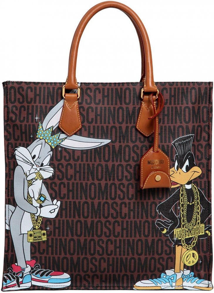 moschino looney tunes bag collection bragmybag. Black Bedroom Furniture Sets. Home Design Ideas