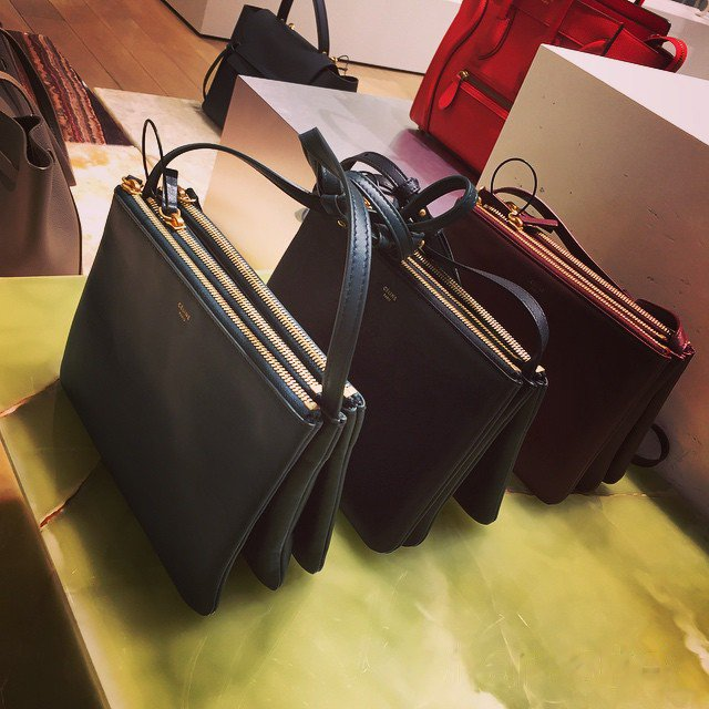 New Colors Of The Celine Trio Bag