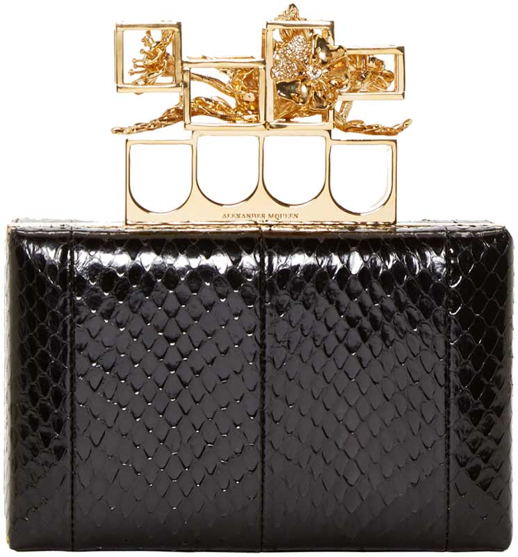Alexander-McQueen-Poppy-Cage-Knuckle-Box-Clutch