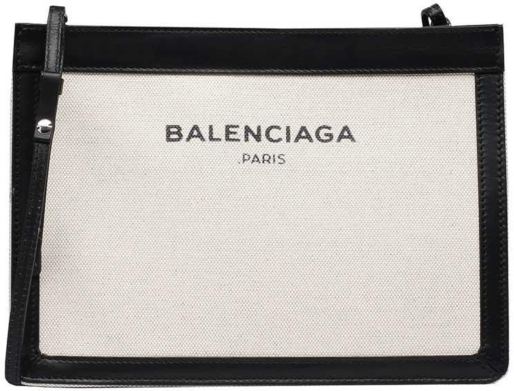 Balenciaga-Navy-Pochette-S