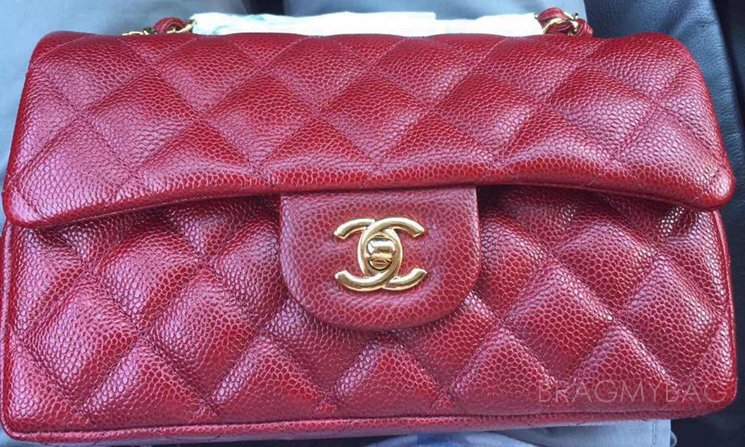Chanel-Classic-Flap-Bag-Grained-Red
