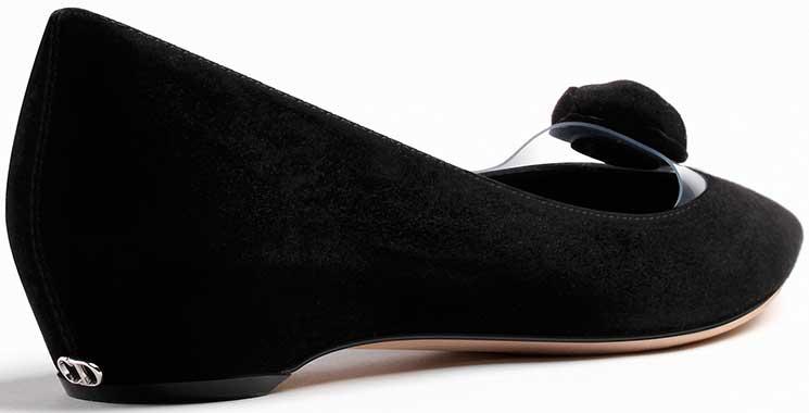 Dior-BLACK-SUEDE-CALFSKIN-Ballerina-2