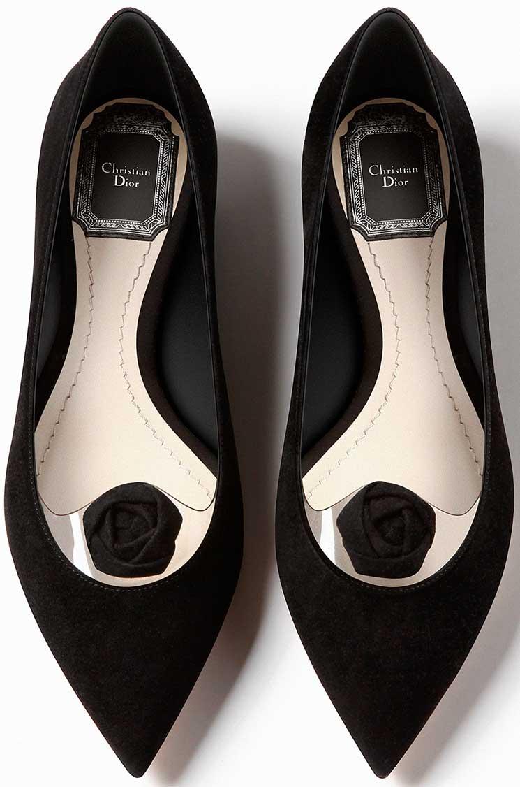 Dior-BLACK-SUEDE-CALFSKIN-Ballerina-3
