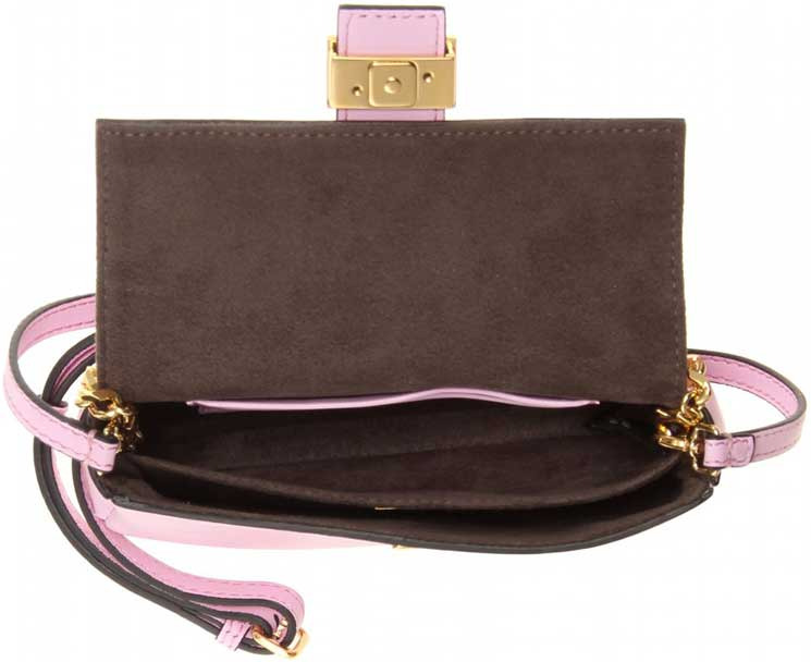 Fendi-Pink-Micro-Baguette-Chain-shoulder-bag-3