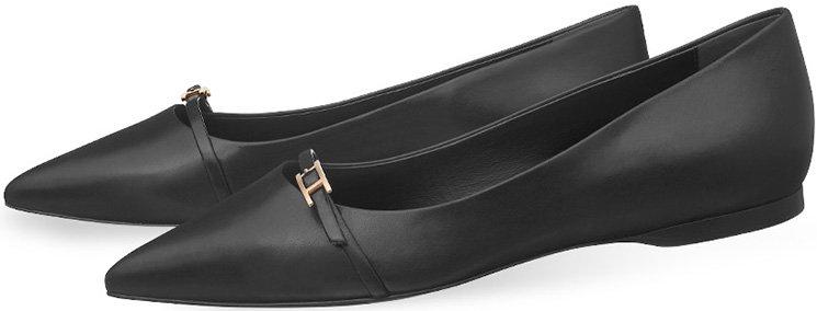 Hermès Leather Flats 6LBoLpSzE