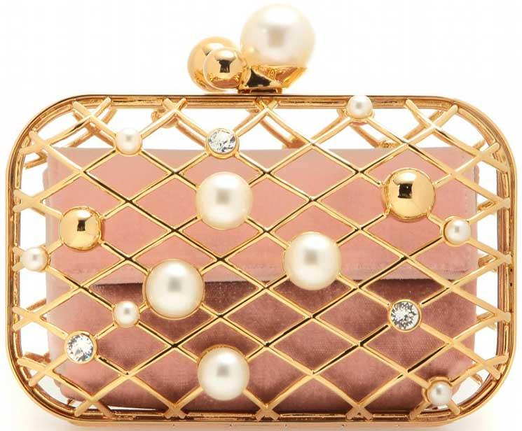 Jimmy-Choo-Pearl-And-Brass-Clutch-Bag