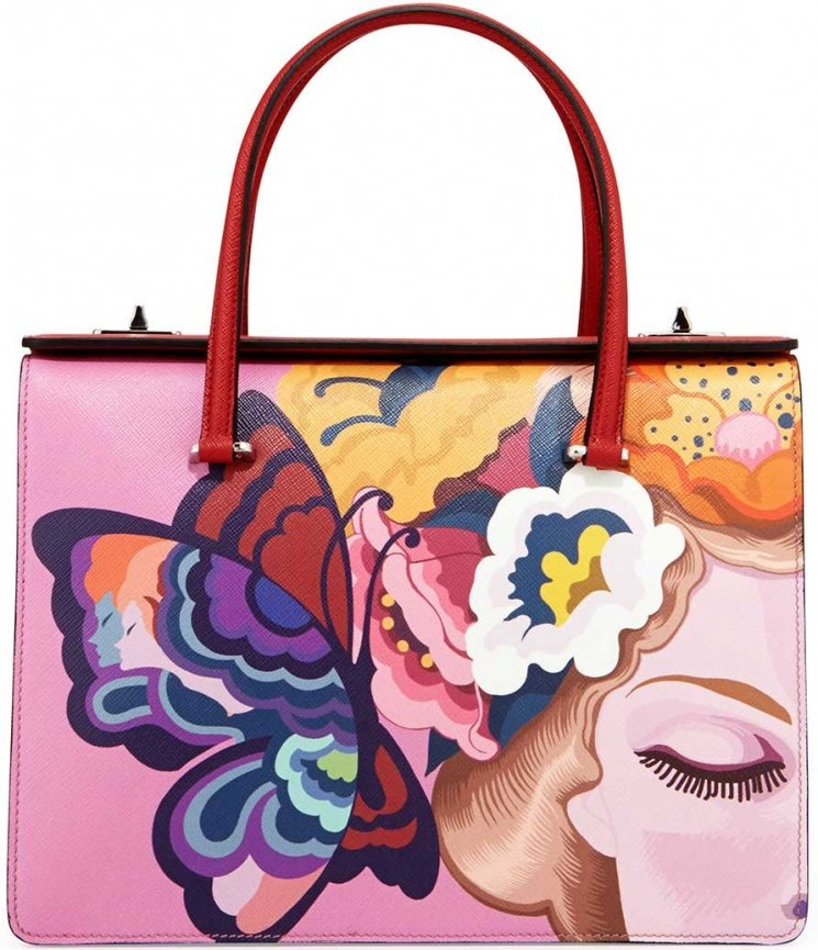 Prada Butterfly Printed Bag Collection | Bragmybag