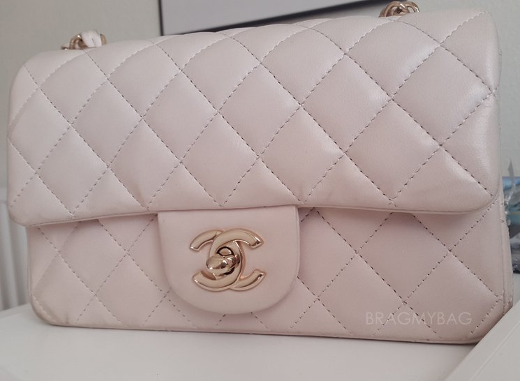 Shopping-with-Emmy-Chanel-Pink-Rose-Gold-Mini-Classic-Flap-Bag