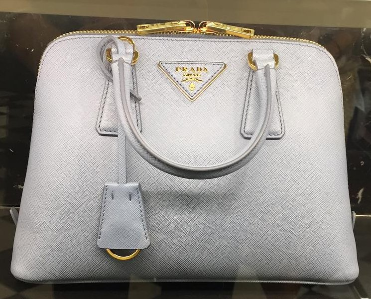 saffiano chain crossbody wallet prada - A Closer Look: Prada Saffiano Top Handle Bag | Bragmybag