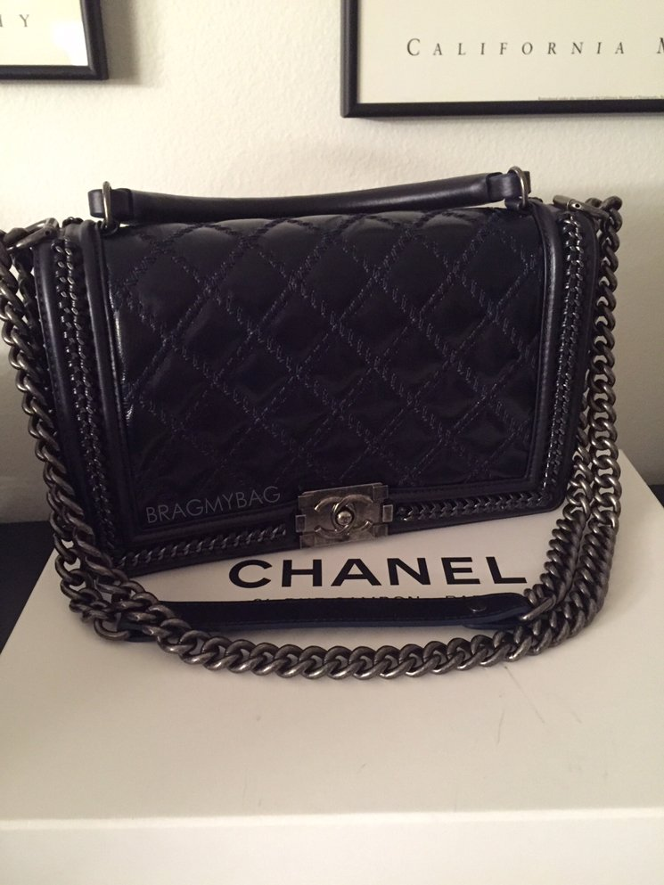 Préférence Shopping with Maricela: Chanel Boy Handle Flap Bag and Chanel CC  DN25