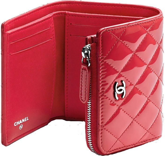 Chanel-Small-Patent-Wallet-4