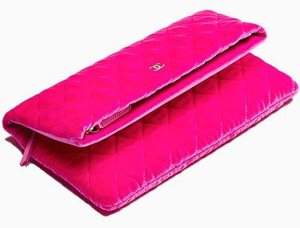 9f089b57e5f1 Chanel Velvet Folded Pouch | Bragmybag