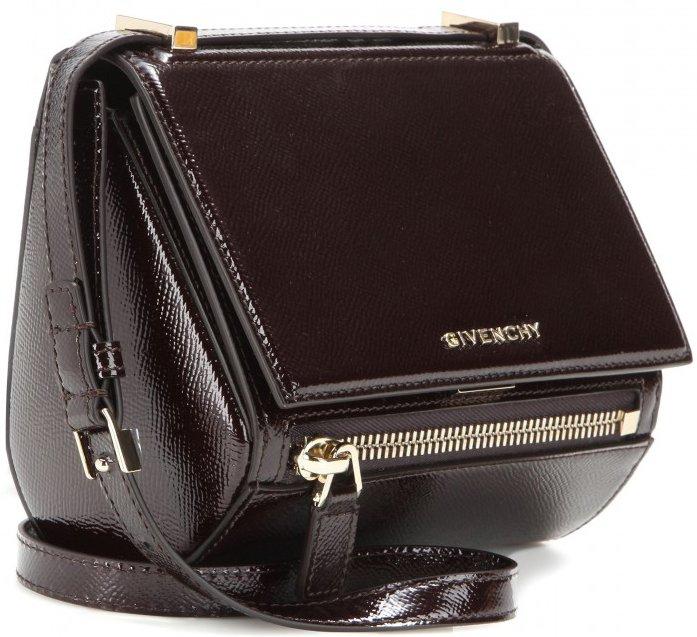 1078aefcb447 Givenchy Pandora Box Mini Patent Leather Shoulder Bag – Bragmybag