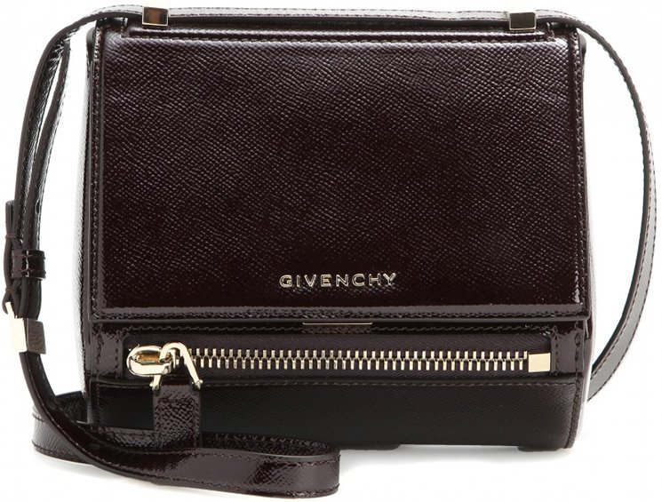 c7d4412a2687 Givenchy Pandora Box Mini Patent Leather Shoulder Bag – Bragmybag