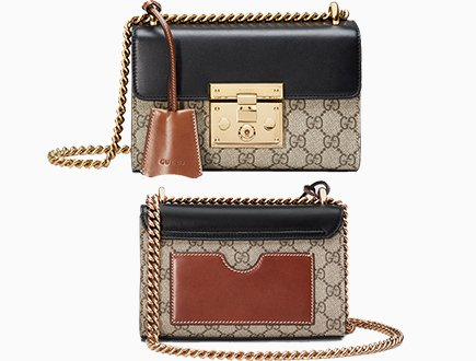 28acc514dfa Gucci Padlock GG Supreme Shoulder Bag