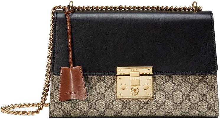 d23bae7b5e3 Gucci Padlock GG Supreme Shoulder Bag