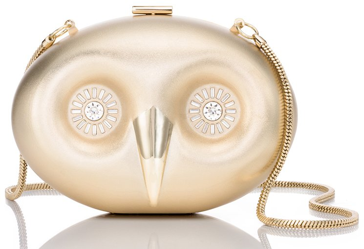 Kate-Spade-blaze-a-trail-metal-owl-clutch