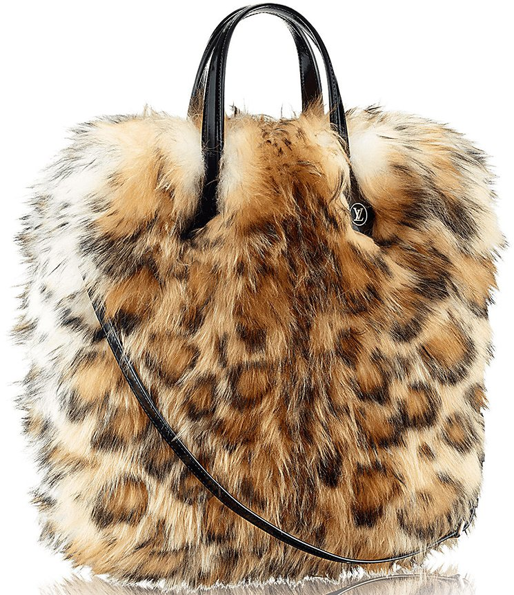 Louis-Vuitton-Sac-Plat-Animal-Print-Sheepskin