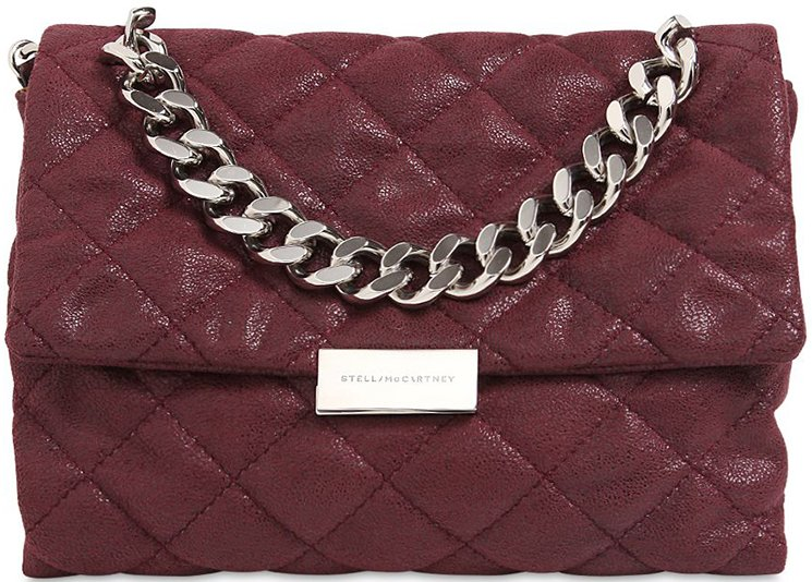 Stella McCartney Soft Becket Quilted Shoulder Bag | Bragmybag : stella mccartney quilted bag - Adamdwight.com