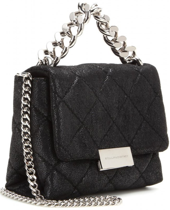 Stella McCartney Soft Beckett Mini Quilted Shoulder Bag | Bragmybag : stella mccartney quilted bag - Adamdwight.com