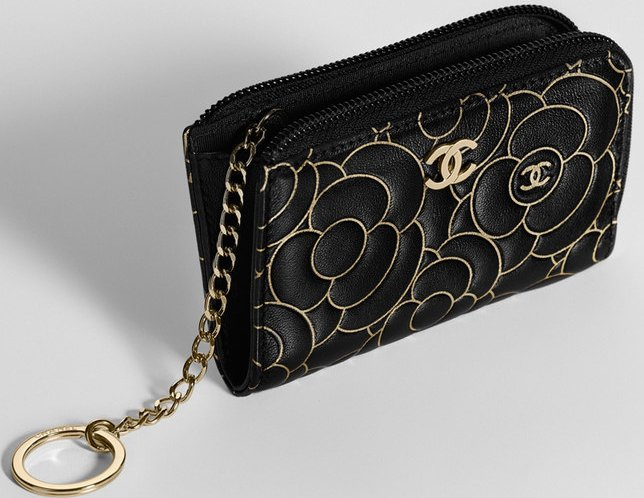 chanel key pouch. chanel-camellia-embossed-small-bag-collection-8 chanel key pouch