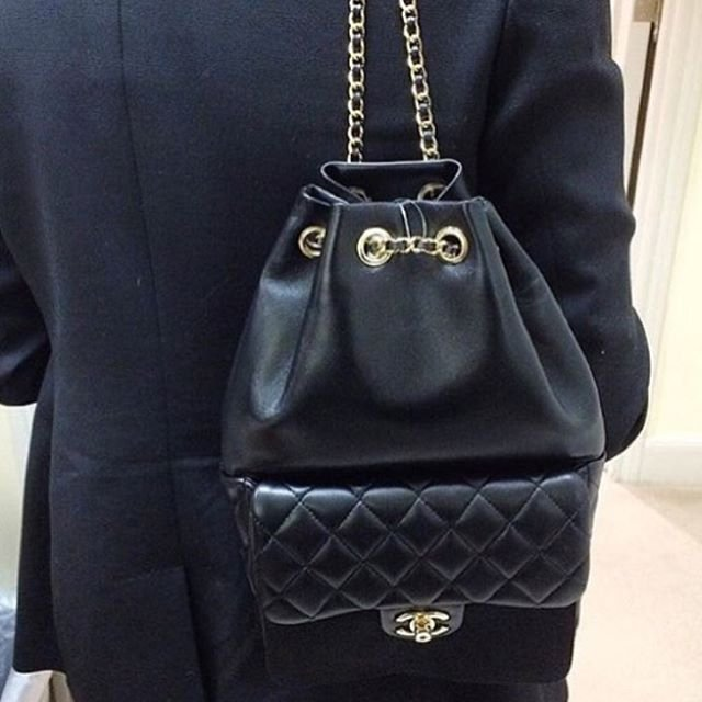 Chanel Quilted Drawstring With Flap Bag | Bragmybag