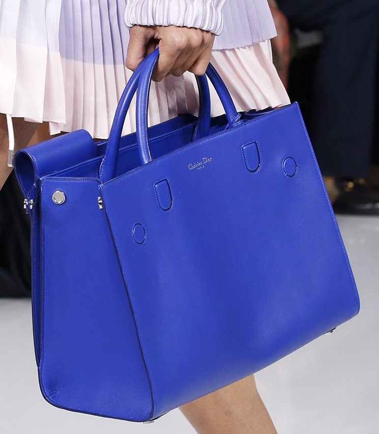 Dior Spring Summer 2016 Runway Bag Collection Featuring New Tote ...