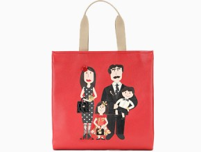 8cee84547ac7 Dolce   Gabbana Family Leather Shopping Bag · BAGS ...