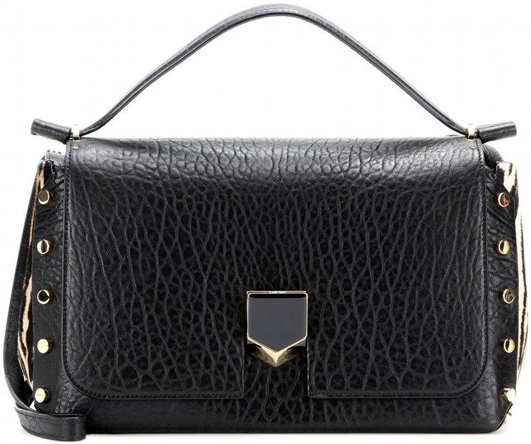 Lockett shoulder bag - Black Jimmy Choo London Discount Visit Affordable Sale Online KpboHv1XR9