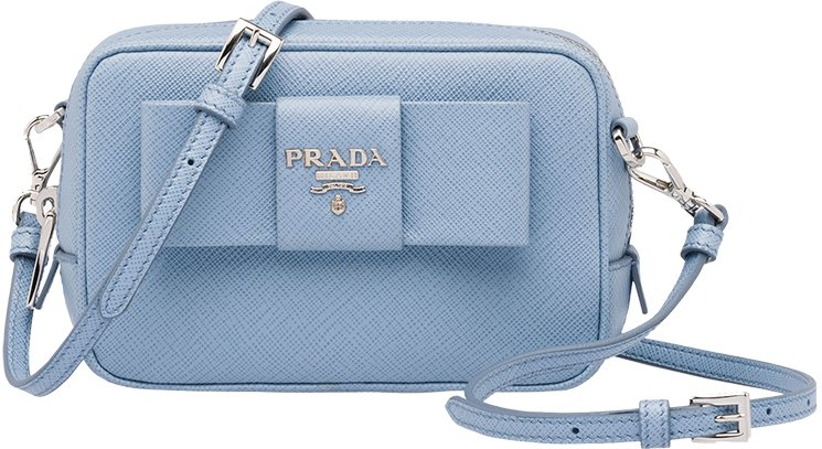 prada purse bag - Prada Bow Cosmetic Pouch With Chain | Bragmybag