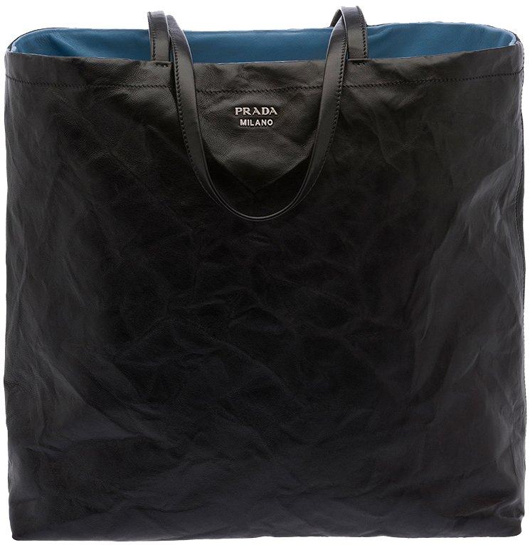 prada saffiano executive tote - Prada Soft Reversible Nappa Leather Tote | Bragmybag