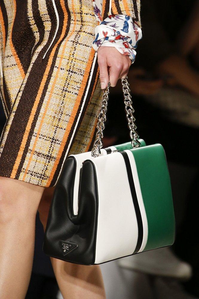 Prada Spring Summer 2016 Runway Bag Collection Featuring ...