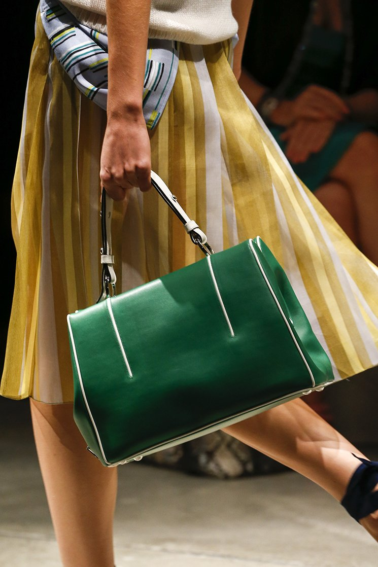4438324027b3 Prada Spring Summer 2016 Runway Bag Collection Featuring More New Tote Bags