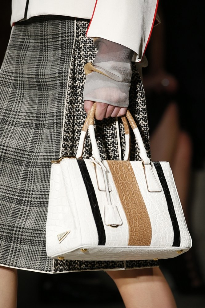 Prada Spring Summer 2016 Runway Bag Collection Featuring New Tote ...