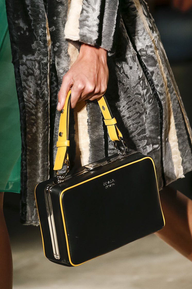 Prada Spring Summer 2016 Runway Bag Collection Featuring More New ...