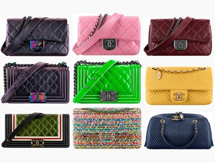 c8f36a4e5952 Chanel Cruise 2016 Classic And Boy Bag Collection