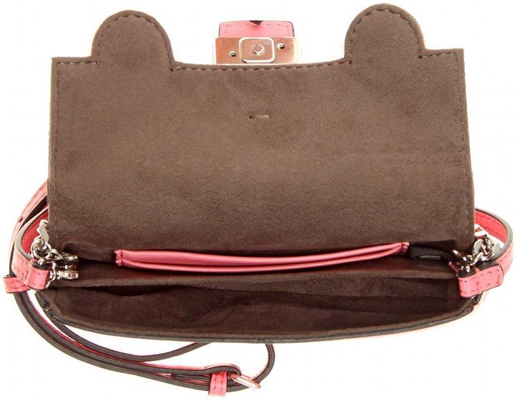 prada tessuto vernice - Fendi Micro Baguette Fur-Trimmed Shoulder Bag | Bragmybag