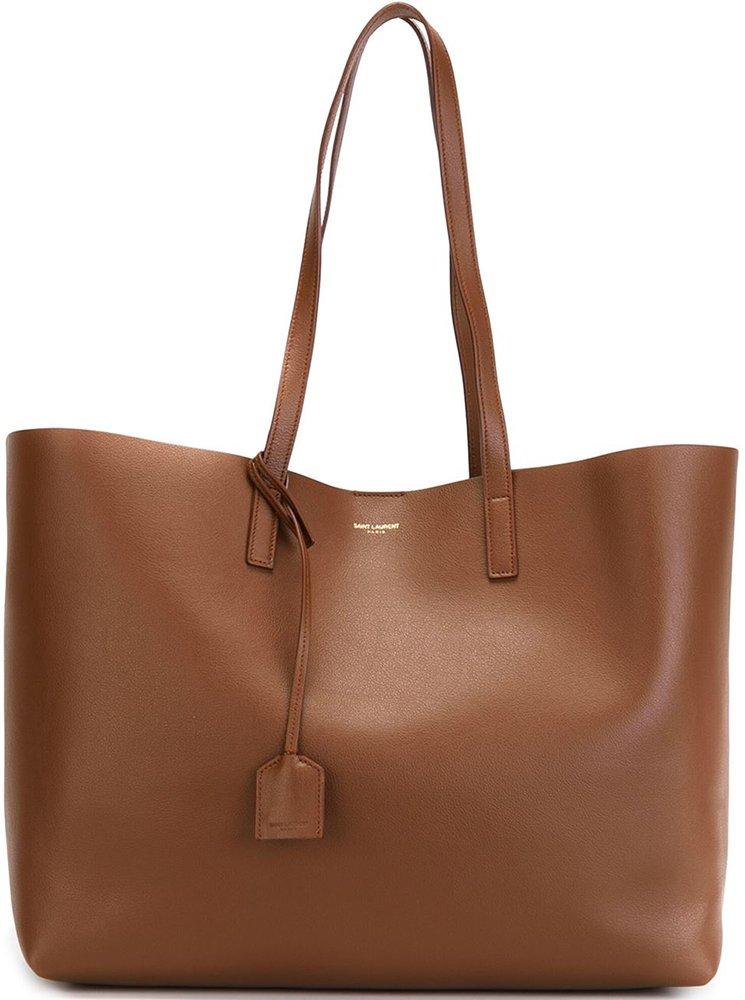 Saint Laurent Soft Leather Tote Bag | Bragmybag