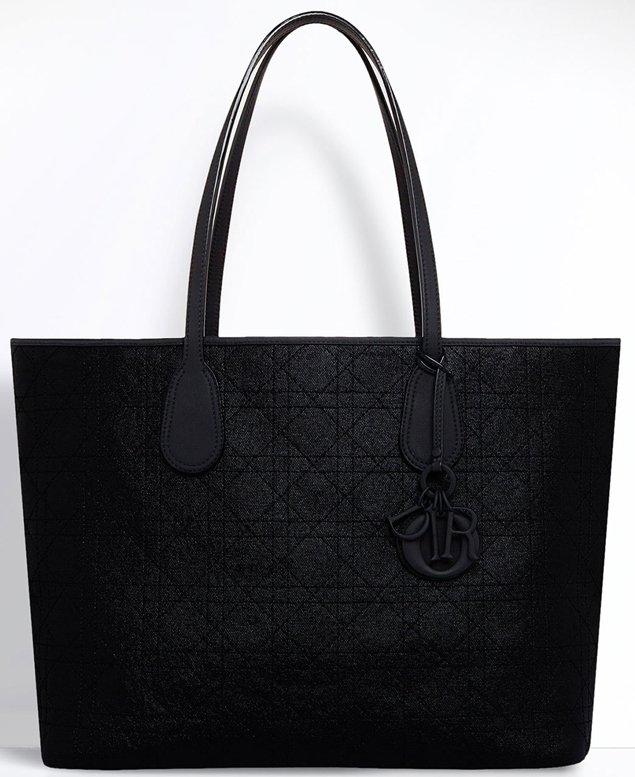 Dior-Panarea-Bag-black-canvas-2