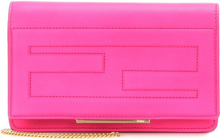 Fendi-Stitched-Logo-Shoulder-Bag