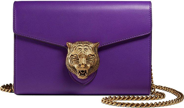 Gucci-Animalier-Leather-Chain-Bag-2