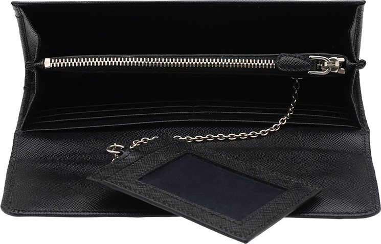 Prada Saffiano Lock Leather Wallets | Bragmybag