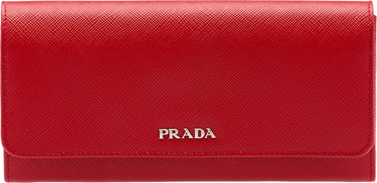 2ae025668563 Prada-Saffiano-Multicolored-leather-flap-wallet-2. Prada Two-tone Saffiano  Leather Flap Wallet in Red and Black