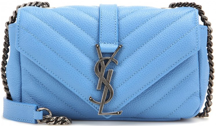 Saint-Laurent-Classic-Monogram-Quilted-Baby-shoulder-bag-with-Gunmetal-Chain-3