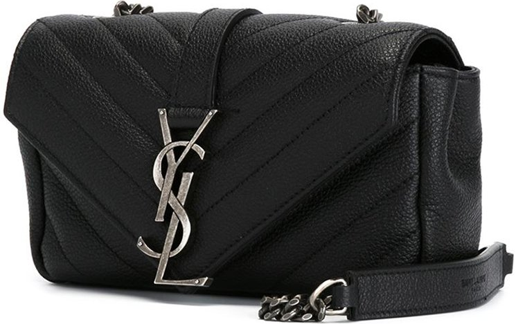 Saint-Laurent-Classic-Monogram-Quilted-Baby-shoulder-bag-with-Gunmetal-Chain-5